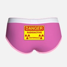 DANGER - RADIOACTIVE ELEMENTS! Women's Boy Brief