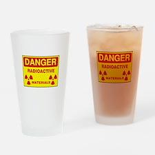 DANGER - RADIOACTIVE ELEMENTS! Drinking Glass
