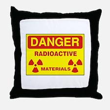 DANGER - RADIOACTIVE ELEMENTS! Throw Pillow
