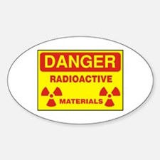 DANGER - RADIOACTIVE ELEMENTS! Decal