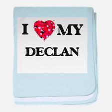 I love my Declan baby blanket