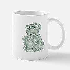 Kitchen Mixer Vintage Etching Mugs