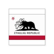 "Unique Cthulhu Square Sticker 3"" x 3"""