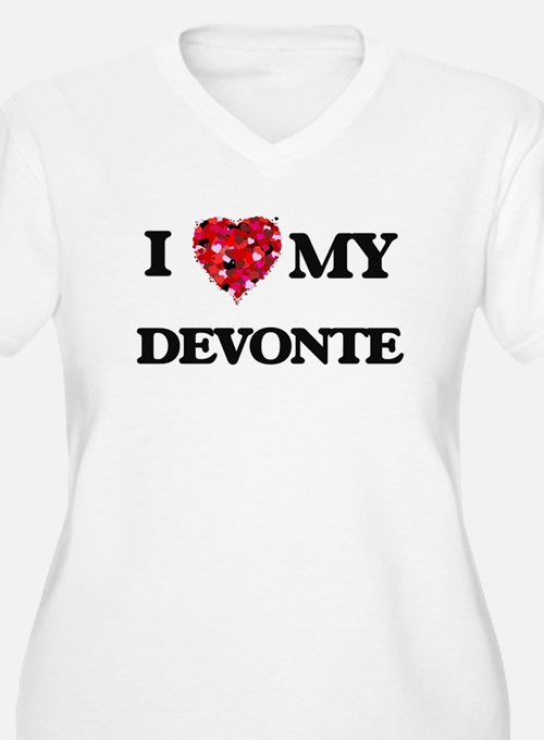 I love my Devonte Plus Size T-Shirt