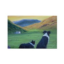 Cute Heather Rectangle Magnet (10 pack)