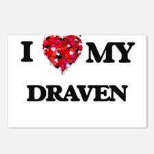 I love my Draven Postcards (Package of 8)