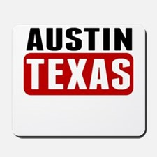 Austin Texas Mousepad