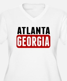 Atlanta Georgia Plus Size T-Shirt