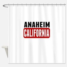 Anaheim California Shower Curtain