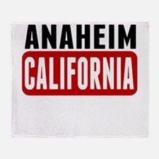 Anaheim California Throw Blanket