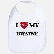 I love my Dwayne Bib