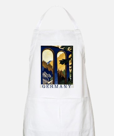 Germany In the Black Forest Vintage Poster R Apron