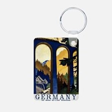 Germany In the Black Fores Aluminum Photo Keychain