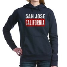 San Jose California Women's Hooded Sweatshirt