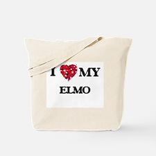 I love my Elmo Tote Bag
