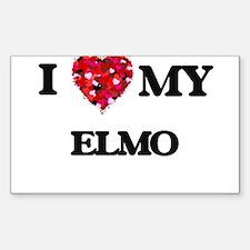I love my Elmo Decal