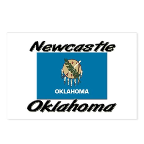 Newcastle Oklahoma Postcards (Package of 8)