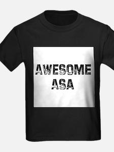 Awesome Asa Ash Grey T-Shirt