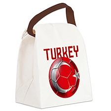 Turkey Football Canvas Lunch Bag