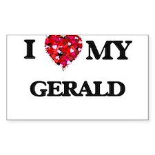 I love my Gerald Decal