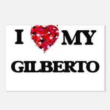 I love my Gilberto Postcards (Package of 8)