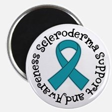 Scleroderma Support awareness Magnets