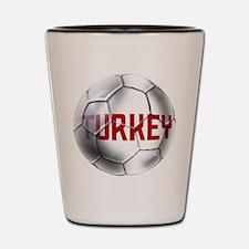 Turkey Soccer Ball Shot Glass