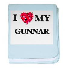 I love my Gunnar baby blanket