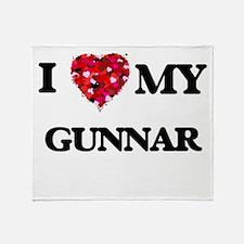 I love my Gunnar Throw Blanket