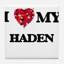 I love my Haden Tile Coaster