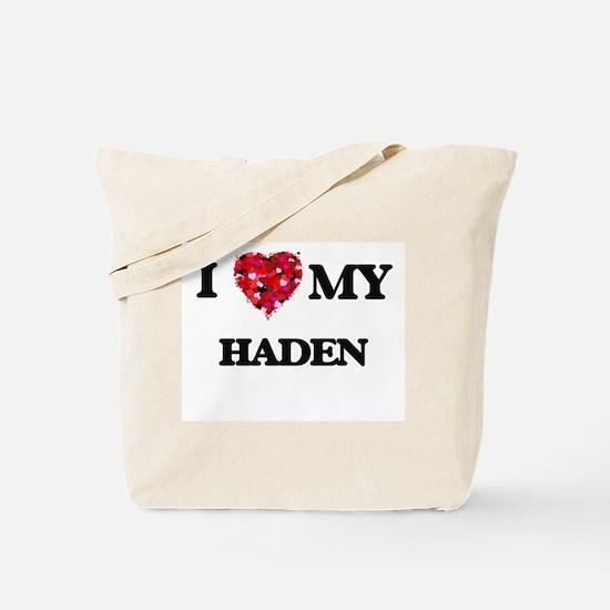 I love my Haden Tote Bag