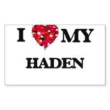 I love my Haden Decal