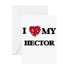 I love my Hector Greeting Cards