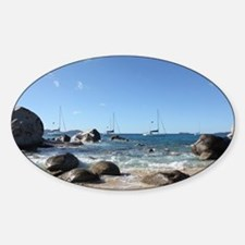 BVI Sailing Boat Decal