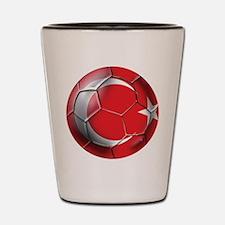 Turkey Football Shot Glass