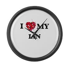 I love my Ian Large Wall Clock