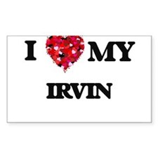 I love my Irvin Decal
