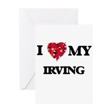 I love my Irving Greeting Cards