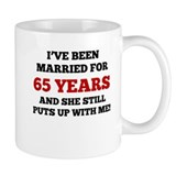 65th anniversary Standard Mugs (11 Oz)