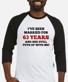 Ive Been Married For 63 Years Baseball Jersey
