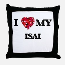I love my Isai Throw Pillow