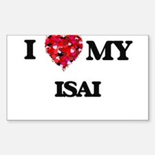 I love my Isai Decal