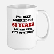 Ive Been Married For 60 Years Mugs