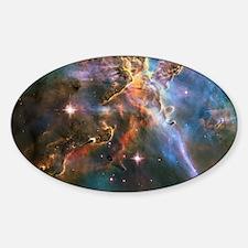 Carina Nebula Sticker (Oval)
