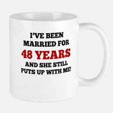 Ive Been Married For 48 Years Mugs