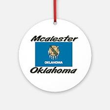 Mcalester Oklahoma Ornament (Round)