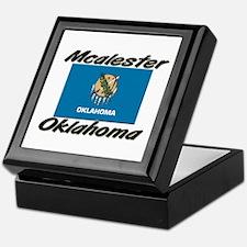 Mcalester Oklahoma Keepsake Box