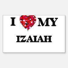 I love my Izaiah Decal