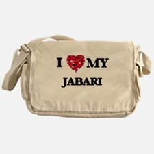 I love my Jabari Messenger Bag