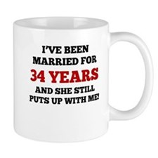 Ive Been Married For 34 Years Mugs